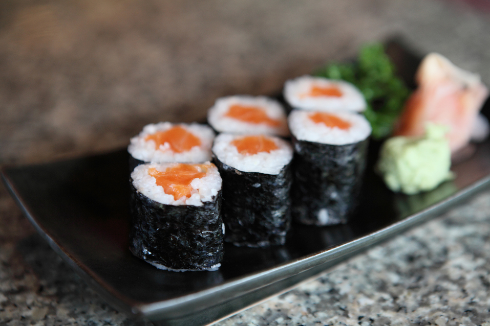 Drinking and driving: a sushi food truck features this week